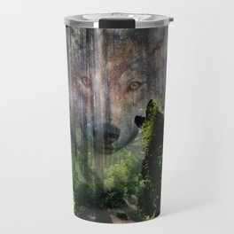 The Wild in Us Travel Mug