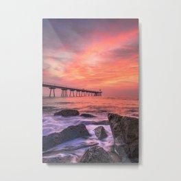 Pont Del Petroli Metal Print
