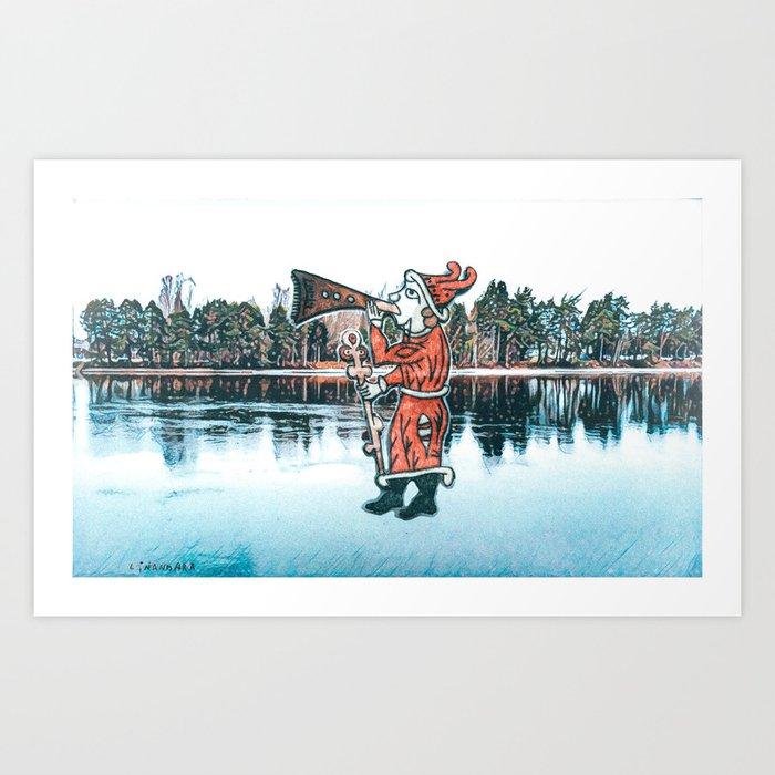 Herald of the Spring Art Print