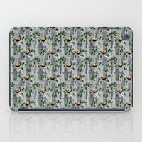 tits iPad Cases featuring Crested Tits by LindaWinegum
