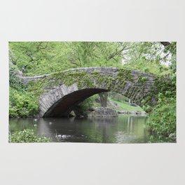 Gapstow Bridge  NYC Rug