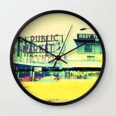 Pike Place Market   Project L0̷SS   Wall Clock