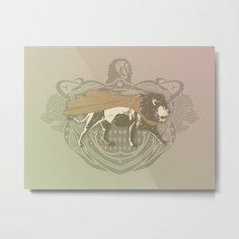 Fearless Creature: Leeoh Metal Print