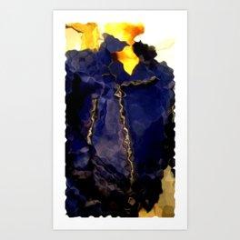 Summer's Over: Baby Blue Jimmy D Art Print