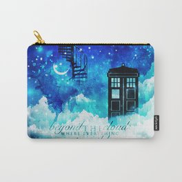 Beyond the clouds | Doctor Who Carry-All Pouch