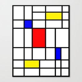 Mondrian #63 Canvas Print