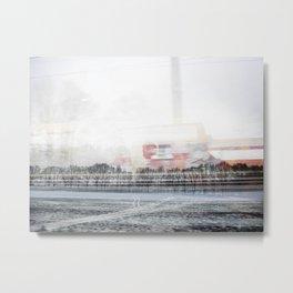 rail flyby III Metal Print