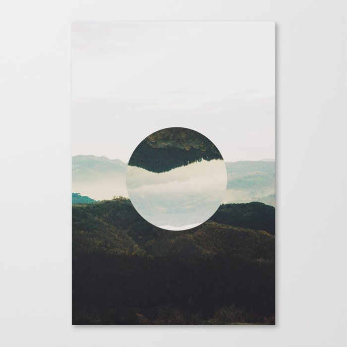 Up side down Canvas Print