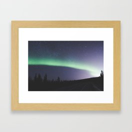Band of light Framed Art Print