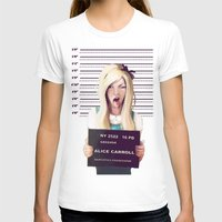 alice wonderland T-shirts featuring Alice by adroverart
