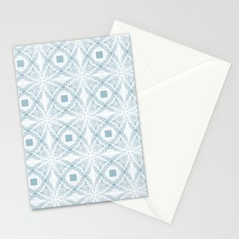Blue & Gray Stationery Cards