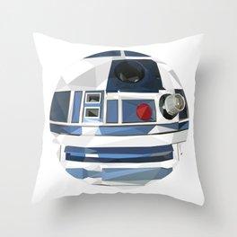 R2 Dot Throw Pillow
