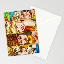 The Golden Goddesses  Stationery Cards