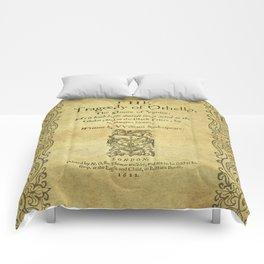 Shakespeare. Othello, 1622. Comforters
