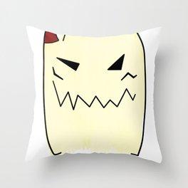 Everyone has a little demon inside Throw Pillow