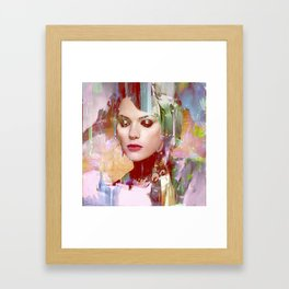 Vengeance of a betrayed woman Framed Art Print