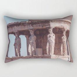 Caryatids the Acropolis Greece Rectangular Pillow