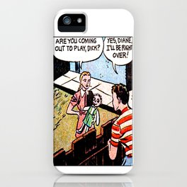 Coming Out to Play Dick iPhone Case
