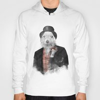 phil jones Hoodies featuring Mr. Phil by Robert Farkas