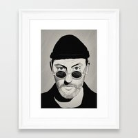 leon Framed Art Prints featuring LEON by Thomas Danthony