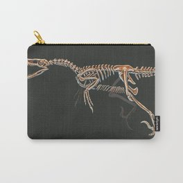 Velociraptor Mongoliensis Skeletal Study (No Labels) Carry-All Pouch