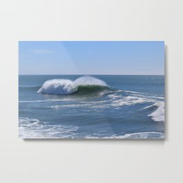 Breaking Wave Santa Cruz Metal Print