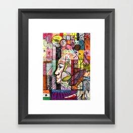 grid 1 Framed Art Print
