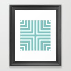 Tiffany + Framed Art Print