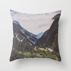 ∇ II Throw Pillow