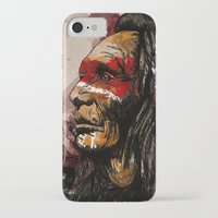 native iPhone & iPod Cases featuring Native by DGundlachDesigns