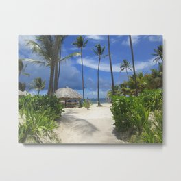 Come with Me to the Dominican Republic Metal Print