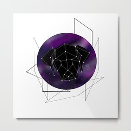 Floppy Ear Galaxy Constellation Dogs Are Higher Beings Metal Print