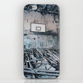 Chernobyl basketball court iPhone Skin