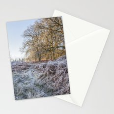 Along the Frosty Path Stationery Cards