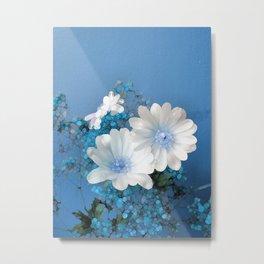 Dreaming of Blue Metal Print