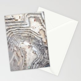 Marble cave Stationery Cards