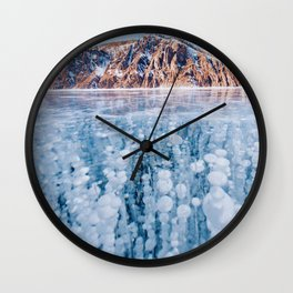 Lake Baikal, Russia Wall Clock