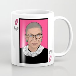 Queen of Dissent Coffee Mug