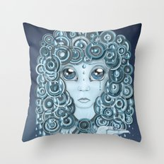 Have You Ever Seen the Rain? Throw Pillow