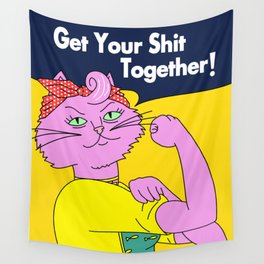 Princess Carolyn - Get Your S*** Together Wall Tapestry