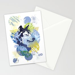 Mystic Wolf Stationery Cards
