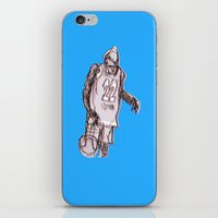 basketball iPhone & iPod Skins featuring basketball by jenapaul
