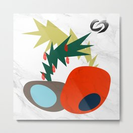 crazy fruit Metal Print