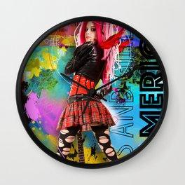 In America Wall Clock