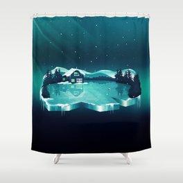 Frozen Magic Shower Curtain