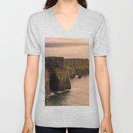 Cliffs Of Moher Unisex V-Neck