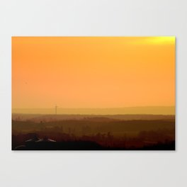 Sunrise Hills Canvas Print