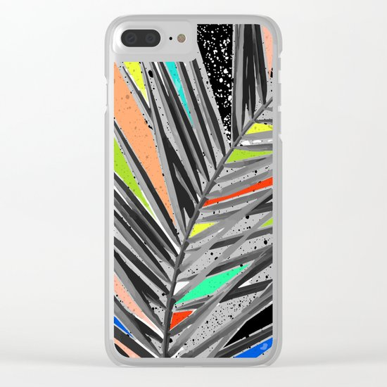 Tropical madness Clear iPhone Case