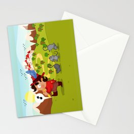 The Pied Piper of Hamelin  Stationery Cards