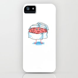 Brainwashed Funny Medicine Doctor Student Surgeon iPhone Case